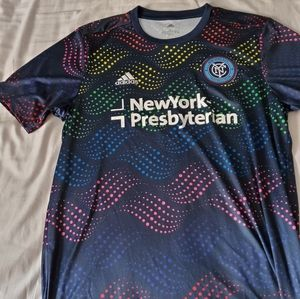 NYCFC Adidas Pride Training Top